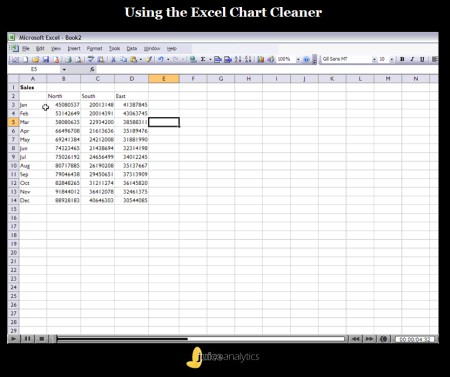 Excel Chart Cleaner