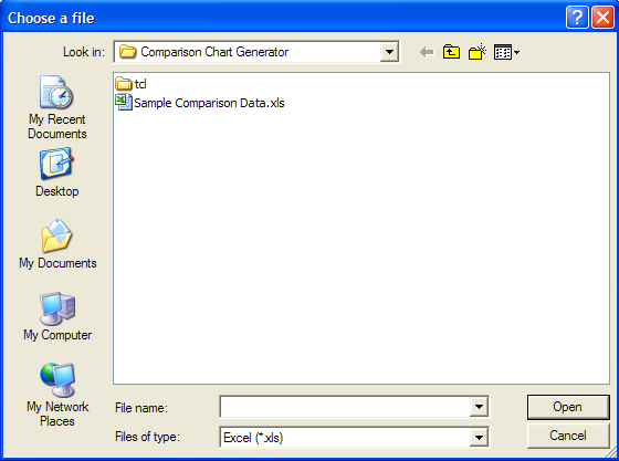 Open File Dialog