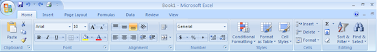 Excel Ribbon