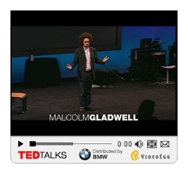 Malcolm Gladwell at TED